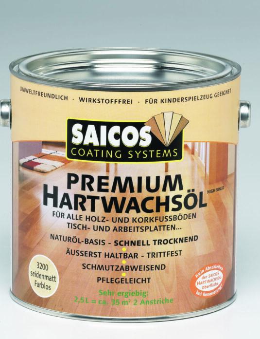 Twardy Wosk Olejny Premium Saicos