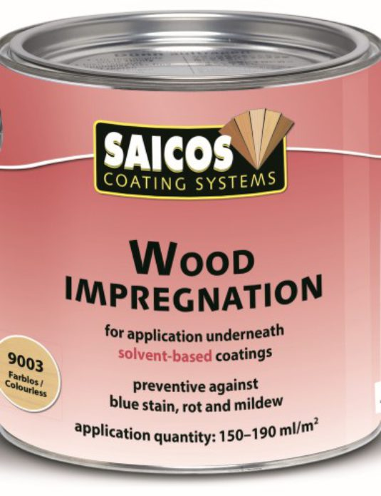 Impregnacja drewna Saicos