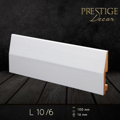 Listwy przypodłogowe lakierowane Prestige Decor