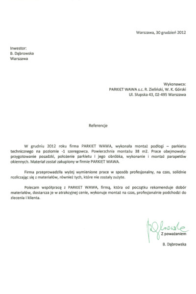 Referencje_Dabrowska