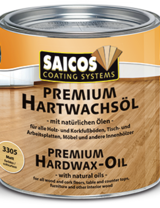 Saicos twardy wosk olejny Premium